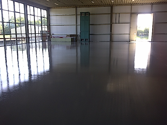 Pumped Screed - Water Based Epoxy Coating